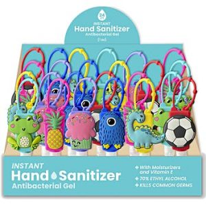 1 oz. Hand Sanitizer with Silicone Holder Units per case: 96