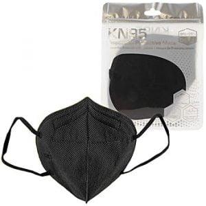 KN95 Respirator Mask (1/Pack) – Black 40 per Case