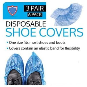 6 Pack Shoe Covers (72 pairs)