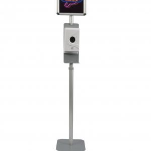 Floor Stand + snap frame for poster + 800ml dispenser